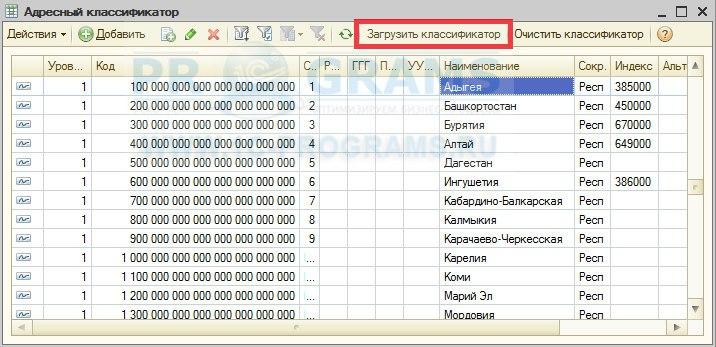 Как обновить справочник банков в 1с 8.2